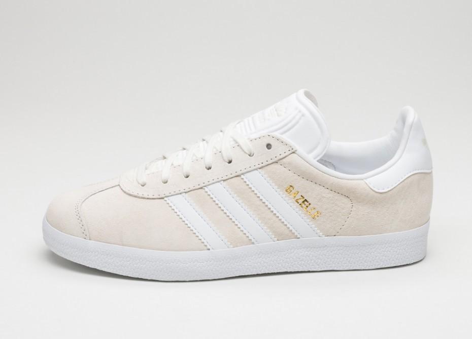 136574c4967c Мужские кроссовки adidas Gazelle (Off White   White   Gold Metallic ...