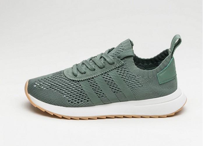 Мужские кроссовки adidas FLB_Runner W PK (Trace Green / Trace Green / Crystal White)   Интернет-магазин Sole