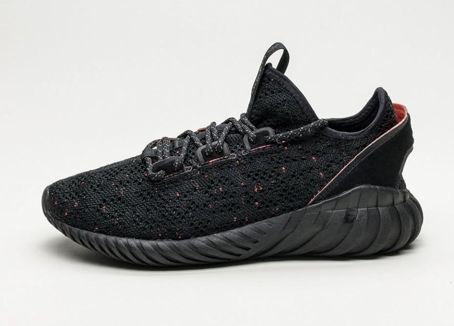 promo code 6a7e9 25f05 Мужские кроссовки adidas Tubular Doom Sock Primeknit (Core Black / Core  Black / Trace Olive)