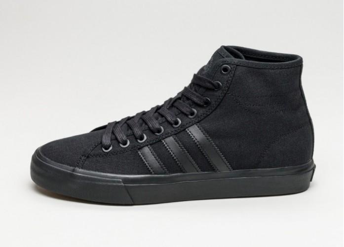 Мужские кроссовки adidas Matchcourt High RX (Core Black / Core Black / Core Black) | Интернет-магазин Sole