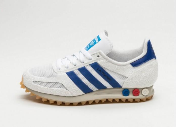 Мужские кроссовки adidas LA Trainer OG (Vintage White / Mystery Ink / Gum)   Интернет-магазин Sole
