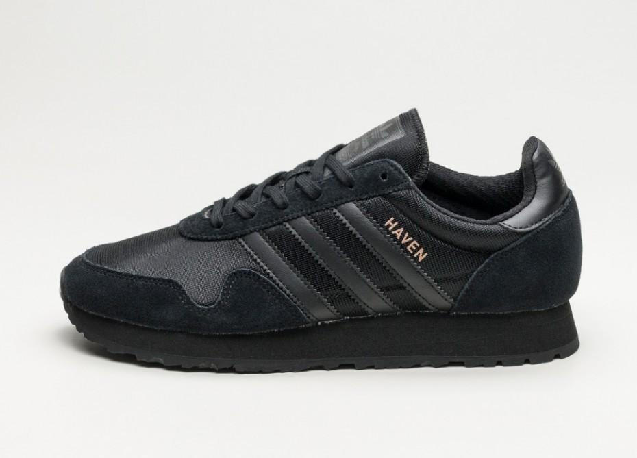 49bab5007 Мужские кроссовки adidas Haven (Core Black / Core Black / Core Black) |  Интернет