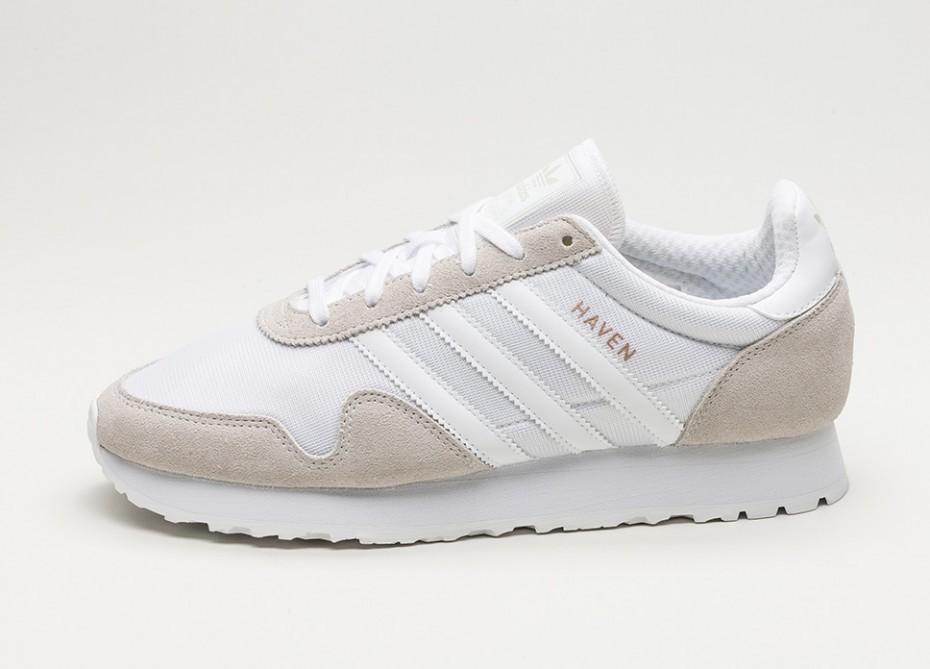 Мужские кроссовки adidas Haven (Ftwr White   Ftwr White   Vintage White)    Интернет a4946ec6dd6
