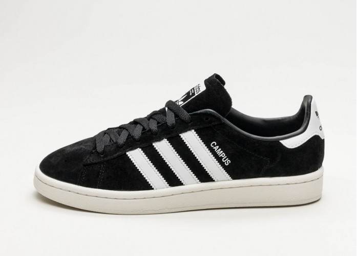 Мужские кроссовки adidas Campus (Core Black / Ftwr White / Chalk White) | Интернет-магазин Sole