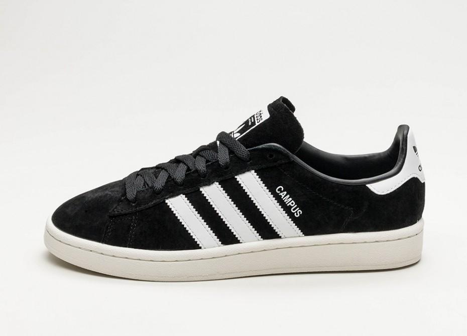 037ee76b5922ff Мужские кроссовки adidas Campus (Core Black / Ftwr White / Chalk White) |  Интернет