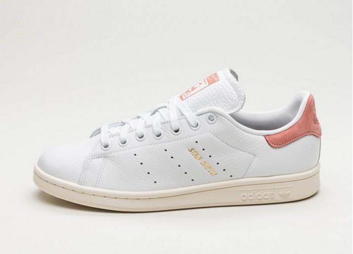 Мужские кроссовки adidas Stan Smith (Ftwr White / Ftwr White / Raw Pink) | Интернет-магазин Sole