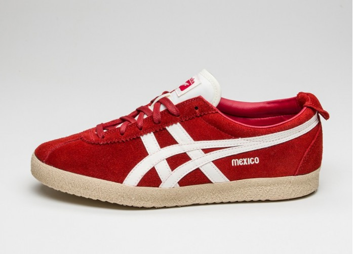 premium selection 75ec4 ca509 Мужские кроссовки Asics Onitsuka Tiger Mexico Delegation (Red / Slight  White)