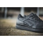 "Asics Gel Lyte III ""Triple Mix"" - Black/Black, фото 10 